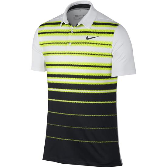 Nike Men's Mobility Fade Stripe Polo Manufacturer Closeout