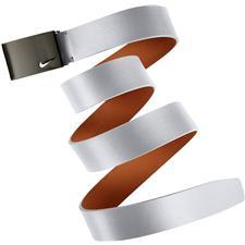 Nike No-Hole Plaque Belt - White - Large (40-42)