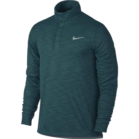 Nike Men's TR Dry Long Sleeve Warm Polo Manf. Closeout