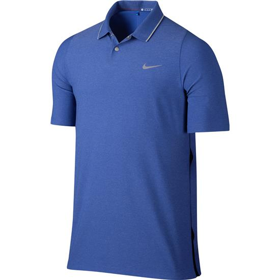 Nike Men's TW VL Max Woven Solid Polo Manf. Closeout