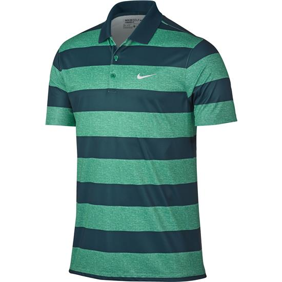 Nike Men's Victory Bold Stripe Polo Manufacturer Closeout