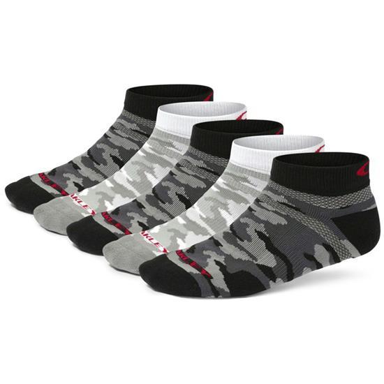 Oakley Men's Golf 5-Pack Low Cut Socks