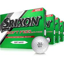 Srixon Soft Feel Golf Balls - Buy 3 DZ Get 1 DZ Free