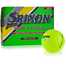 Srixon Prior Generation Soft Feel Tour Yellow Golf Balls