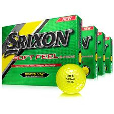 Srixon Soft Feel Yellow Golf Balls - Buy 3 DZ Get 1 Free