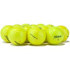 Titleist Logo Overrun DT TruSoft Yellow Golf Balls