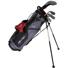U.S. Kids Ultralight 60 Inch 5-Club Stand Bag Junior Set