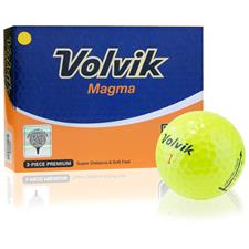 Volvik Magma Yellow Golf Balls