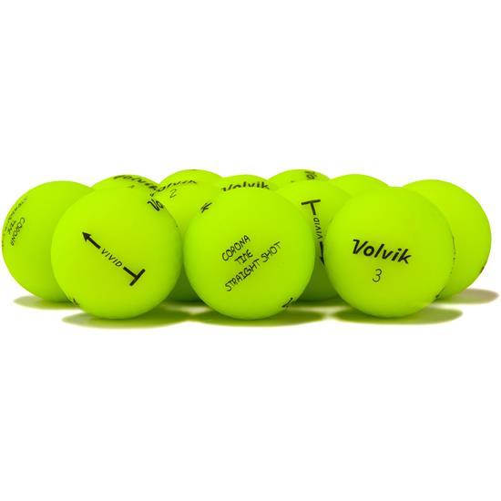 Volvik Prior Generation Vivid Matte Green Golf Balls