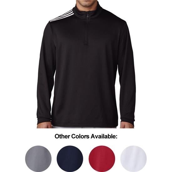 Adidas Men's 3-Stripes Classic 1/4-Zip Pullover
