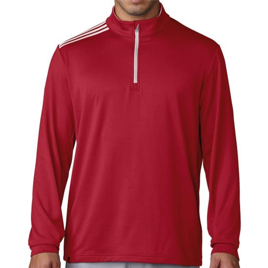 Adidas Men's 3-Stripes Classic 1/4-Zip Pullover