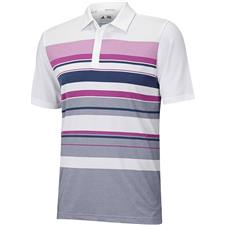 Adidas Men's ClimaCool Sport Performance Stripe Polo