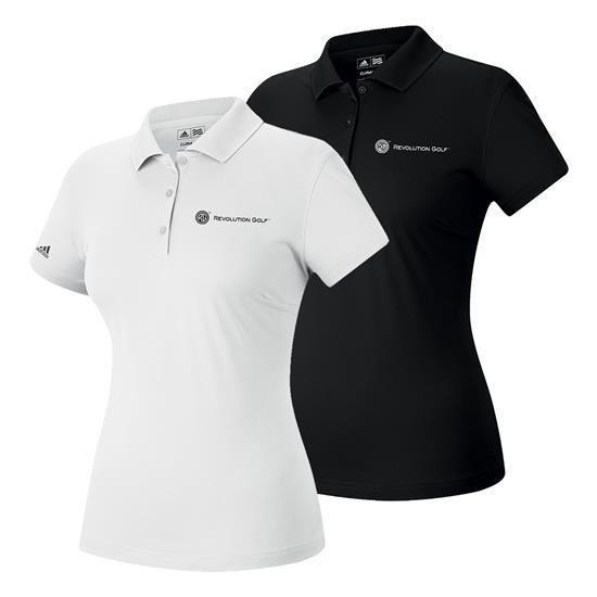 Adidas Climalite Polo for Women with Revolution Golf Logo