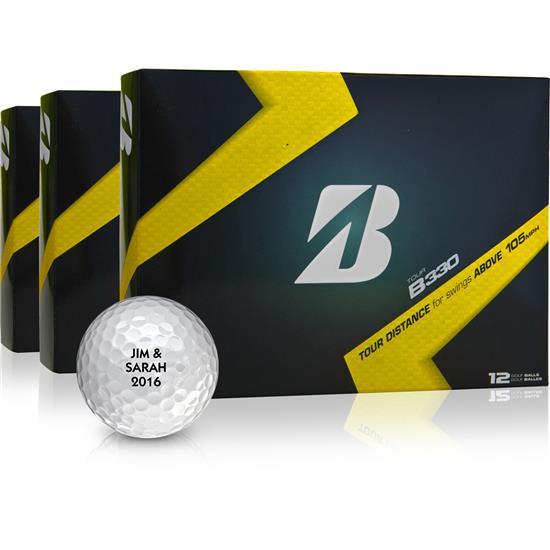 Bridgestone Tour B330 Golf Balls - Buy 2 DZ Get 1 DZ Free