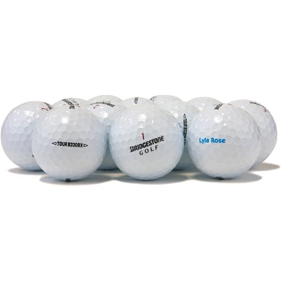 bridgestone tour b330rx logo overrun golf balls golfballscom