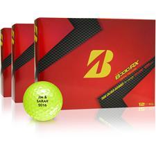 Bridgestone Tour B330-RX Yellow Golf Balls - Buy 2 Get 1 Free