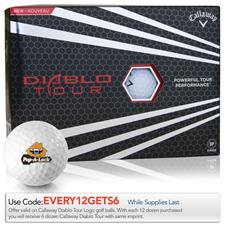 Callaway Golf Diablo Tour Custom Logo Golf Balls