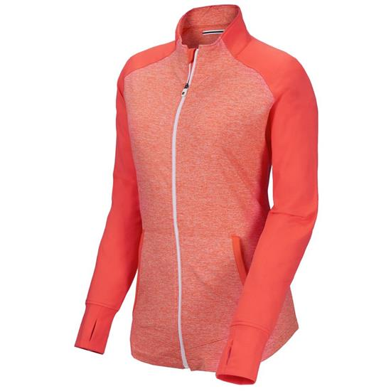 FootJoy Brushed Back Space Dye Logo Mid Layer for Women