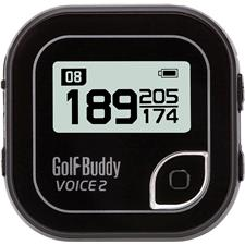 Golf Buddy Voice 2 Talking GPS - Black-Silver