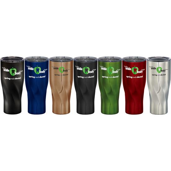 Logo Golf Travel Tumbler - 30oz