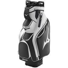 Mizuno Pro Personalized Cart Bag - Black-White