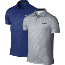 Nike Men's MM Fly DF Wool Stripe Polo Manufacturer Closeout