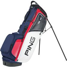 PING Hoofer Personalized Carry Bag - Red-White-Navy