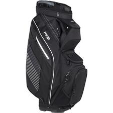PING Pioneer Personalized Cart Bag - Black