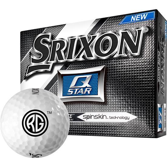 Srixon Q-Star Golf Balls with Revolution Golf Logo