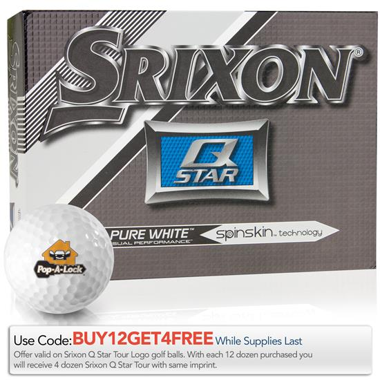 Srixon Q-Star Pure White Golf Balls