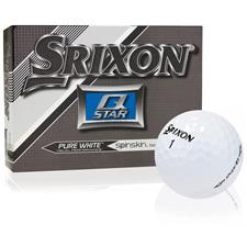 Srixon Prior Generation Q-Star Pure White Personalized Golf Balls