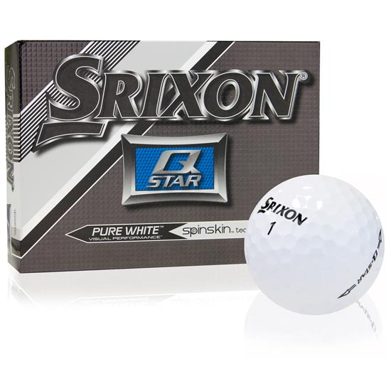 Srixon Prior Generation Q-Star Pure White Golf Balls