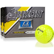 Srixon Q-Star Tour Yellow Golf Balls - 2 Dozen