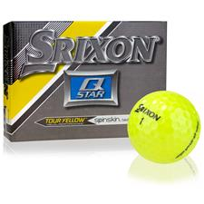 Srixon Prior Generation Q-Star Yellow Personalized Golf Balls
