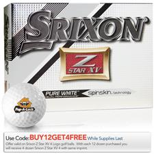 Srixon Z Star XV 4 Custom Express Logo Golf Balls