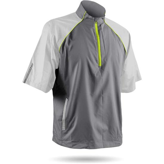 Sun Mountain Men's Headwind Windwear Short Sleeve Pullover - 2017