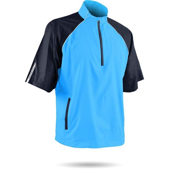 Sun Mountain Men's Headwind Windwear Short Sleeve Pullover