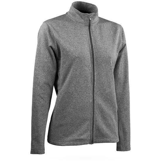 Sun Mountain Heathered Fleece Jacket for Women