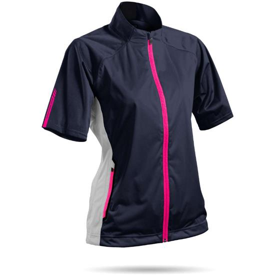 Sun Mountain Rainflex Short Sleeve Jacket for Women - 2017