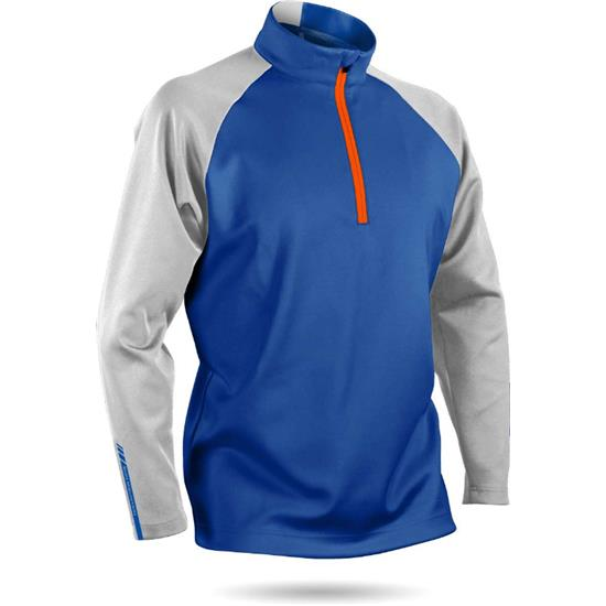 Sun Mountain Men's Thermalflex Long Sleeve Pullover - 2017 Model