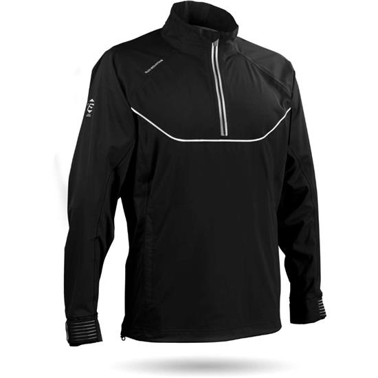 Sun Mountain Men's Tour Series Long Sleeve Rainwear Pullover - 2017
