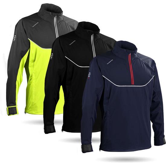 Sun Mountain Men's Tour Series Long Sleeve Rainwear Pullover