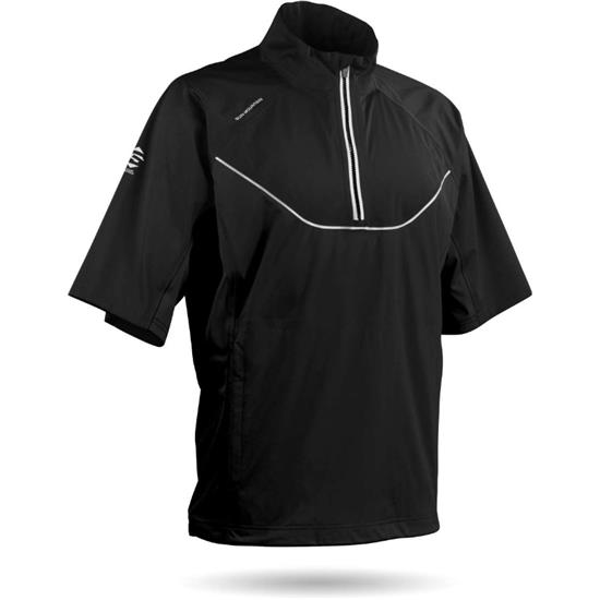 Sun Mountain Men's Tour Series Short Sleeve Rainwear Pullover