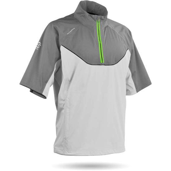 Sun Mountain Men's Tour Series Short Sleeve Rainwear Pullover - 2017