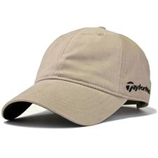 Taylor Made Men's Core Front Hit Relaxed Fit Hat - Khaki