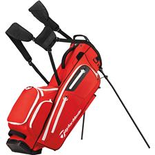 Taylor Made Flextech Crossover Personalized Stand Bag - Red