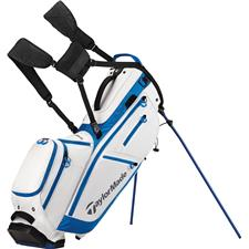 Taylor Made Flextech Crossover Personalized Stand Bag - White-Royal