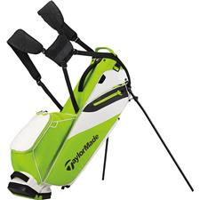 Taylor Made Flextech Lite Personalized Stand Bag - Green-White