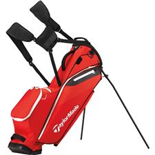 Taylor Made Flextech Lite Personalized Stand Bag - Red