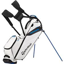Taylor Made Flextech Lite Personalized Stand Bag - White